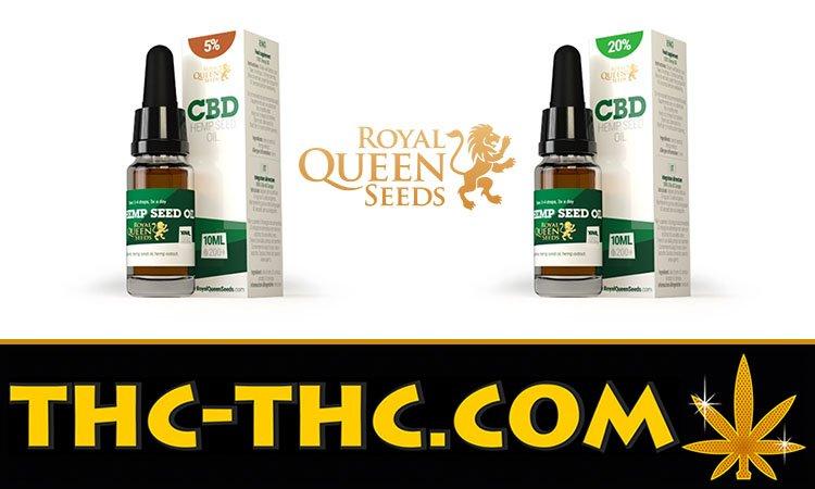 20, 5%, Olej CBD, Royal Queen Seeds, Nasion Konopi