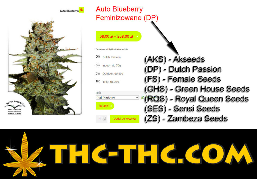 Producenci, Producent, Nasion, Nasiona, Marihuany, Konopi, Cannabis, Skróty, Skrót, Nazw, Nazwy, Nazwa, AKS, Akseeds, DP, Dutch Passion, FS, Female Seeds, GHS, Green House Seeds, RQS, Royal Queen Seeds, SB, SeedBay, SES, Sensi Seeds, ZS, Zambeza Seeds, THC