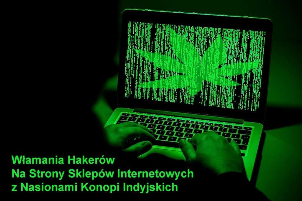 atak hakerów na sklepy z nasionami marihuany
